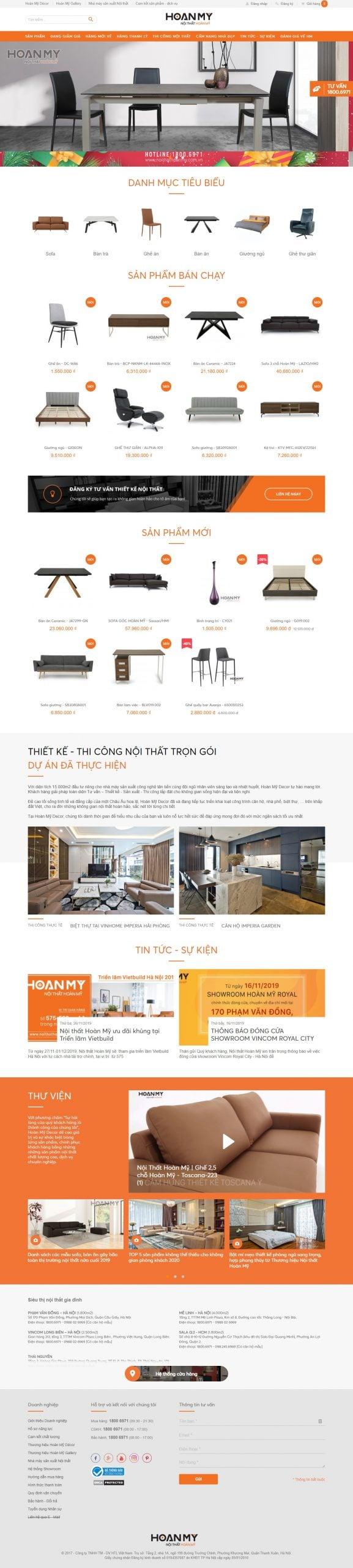 Mẫu thiết kế website bán hàng – noithathoanmy.com.vn Nội Thất Hoàn Mỹ_ Hệ Thống Siêu Thị Đồ Nội Thất Nhập Khẩu Cao Cấp