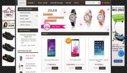 Dịch vụ thiết kế website gian hàng giá rẻ trọn gói tại Hà Nội