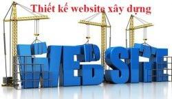 Dịch vụ thiết kế website công ty xây dựng giá rẻ trọn gói tại Hà Nội