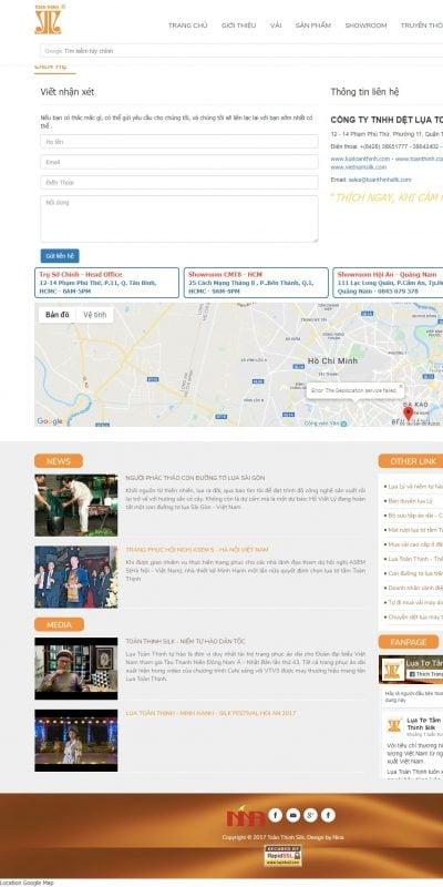 Mẫu thiết kế website Toan Thinh Silk, Lụa Toàn Thịnh, Lụa Tơ Tằm Việt Nam, Lụa Tơ Tằm, Lụ_ – luatoanthinh.com