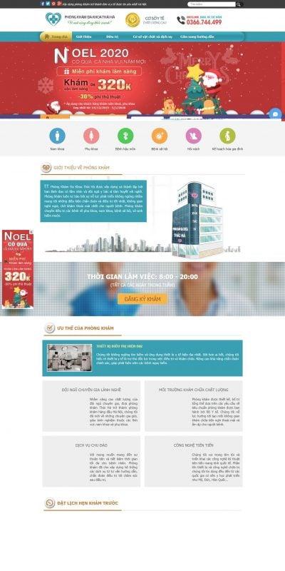 Mẫu thiết kế website tin tức – Phòng Khám Đa Khoa Thái Hà uy tín tại Hà Nội – phongkhamthaiha.com.vn
