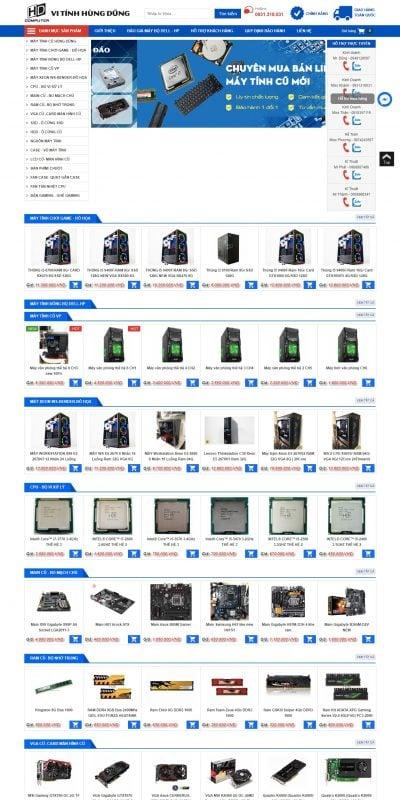 Mẫu thiết kế website bán hàng Linh kiện máy tính giá sỉ – Linh Kiện Máy Tính Giá Sỉ_ – www.linhkienmaytinhgiasi.com