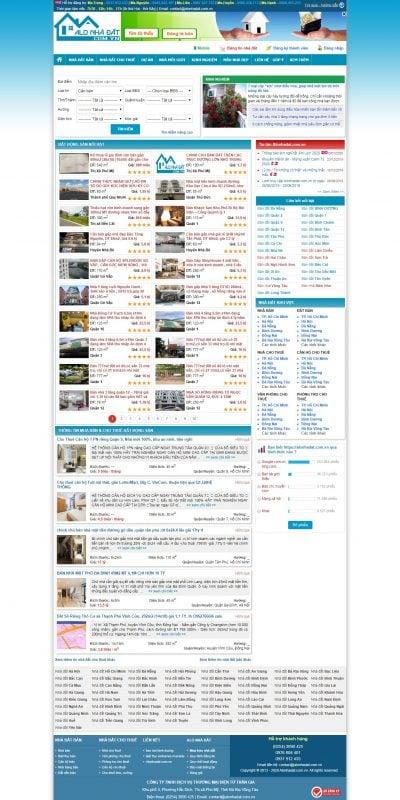 Mẫu thiết kế website tin tức alonhadat.com.vn-Mua Bán Nhà Đất – Cho Thuê Nhà, Căn Hộ, Văn Phòng – Alonhadat.com.vn