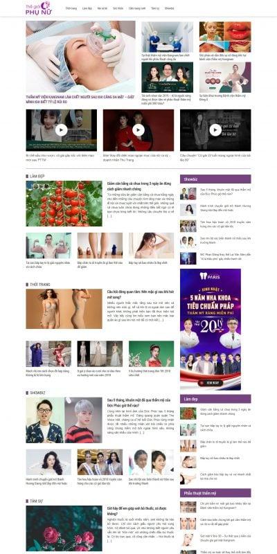 Mẫu thiết kế website tin tức – thegioiphunu.net-Thế giới phụ nữ – CẬP NHẬT Tin Tức – CHIA SẺ Kiến thức phụ nữ 24_7