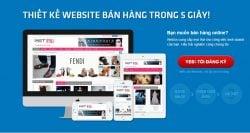 Thiết kế website bán hàng giá rẻ tại Đống Đa uy tín
