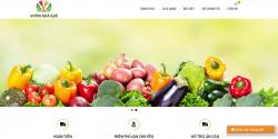Dịch vụ thiết kế website thực phẩm sạch giá rẻ trọn gói tại Hà Nội