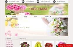 Dịch vụ thiết kế website bán hoa tươi giá rẻ trọn gói tại Hà Nội
