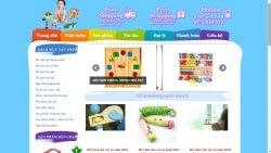 Dịch vụ thiết kế website đồ chơi trẻ em giá rẻ trọn gói tại Hà Nội