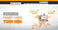 Dịch vụ thiết kế website công ty truyền thông giá rẻ trọn gói tại Hà Nội