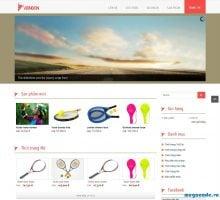 Dịch vụ thiết kế website bán đồ thể thao giá rẻ trọn gói tại Hà Nội