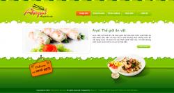 Dịch vụ thiết kế website bán đồ ăn vặt giá rẻ trọn gói tại Hà Nội