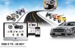 Dịch vụ thiết kế website ô tô xe máy giá rẻ trọn gói tại Hà Nội
