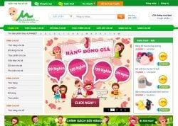 Dịch vụ thiết kế website mẹ và bé giá rẻ trọn gói tại Hà Nội