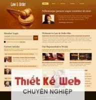 Dịch vụ thiết kế website giới thiệu công ty luật giá rẻ trọn gói tại Hà Nội