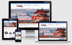 Dịch vụ thiết kế website xuất khẩu lao động giá rẻ trọn gói tại Hà Nội