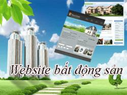 Thiết kế website bất động sản tại Quận Ba Đình theo yêu cầu trọn gói 100%