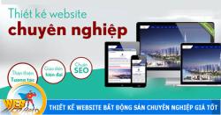Thiết kế website bất động sản tại Quận Tây Hồ chuyên nghiệp trọn gói Hà Nội