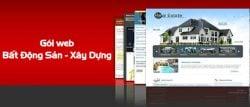Thiết kế website bất động sản tại Huyện Từ Liêm  trọn gói cao cấp tại Hà Nội
