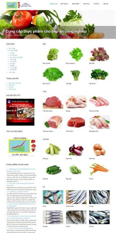 Mẫu thiết kế website bán hàng thucphamsachduongquoctuan.com-DƯƠNG QUỐC TUẤN – thực phẩm sạch