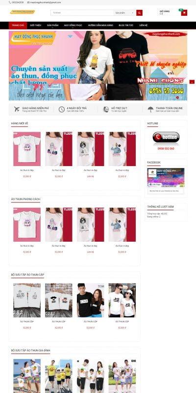 Mẫu thiết kế website bán hàng maydongphucnhanh.com-MAY ĐỒNG PHỤC NHANH – THIẾT KẾ, SẢN XUẤT ÁO THUN, ÁO KHOÁC, ĐỒ THỂ THAO_